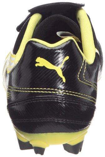 Puma V4-11 Ifg, Crampons moulés football homme Noir / Blanc / Jaune