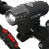 Fahrrad Licht LED Set Fahrradbeleuchtung Aufladbar - USB Fahrradlicht hinten