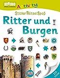 memo Activity. Ritter und Burgen: StickerRätselSpaß