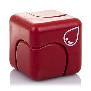 DAM Metal gyro Cube Alivia el estrés y la ansiedad para niños y Adultos