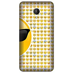 Skintice Designer Back Cover with direct 3D sublimation printing for Micromax Canvas Spark