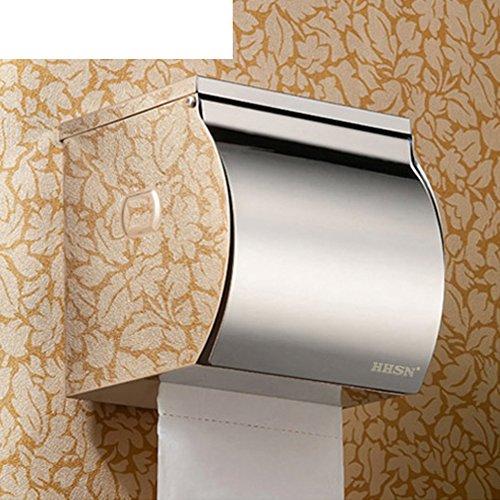 In acciaio inox carta igienica titolare servizi igienici/ bagno tessuto titolare/Box-A