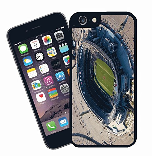 San Diego Chargers Qualcomm Stadium iPhone Case – dieses Cover passt Apple Modell iPhone 6 – von Eclipse Geschenk Ideen (San Diego Chargers, Qualcomm Stadium)