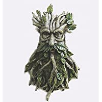 Celtic Greenman Hanging Wall Plaque Garden Ornament