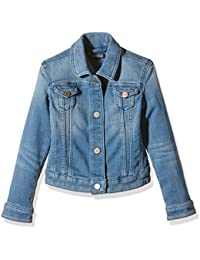 Tommy Hilfiger Vivianne Mini Denim Jacket Kdlstr-Chaqueta Bebé-Niños    Azul Blue (Knit Denim Light Stretch) 4 años