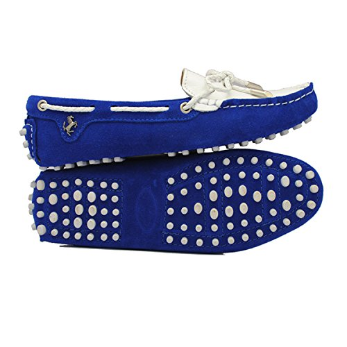 Minitoo - Ballet donna Royal Blue/White