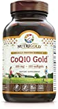 Nutrigold CoQ10 Gold (High Absorption) (Clinically-proven KanekaQ10), 100 mg, 120 softgels