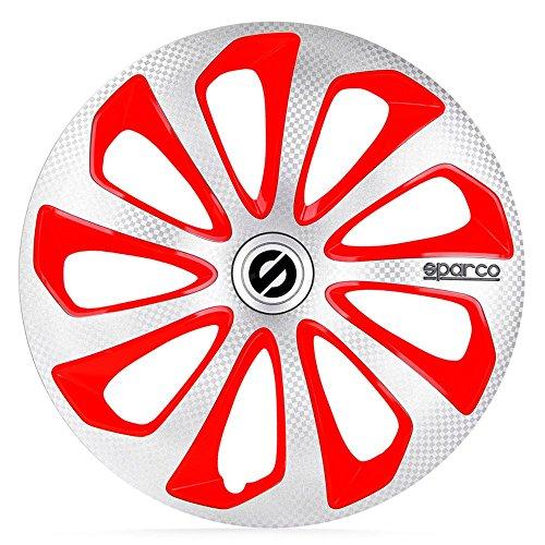 sparco-sp-1475svrdc-jeu-denjoliveurs-argent-rouge-carbon-14-pouces