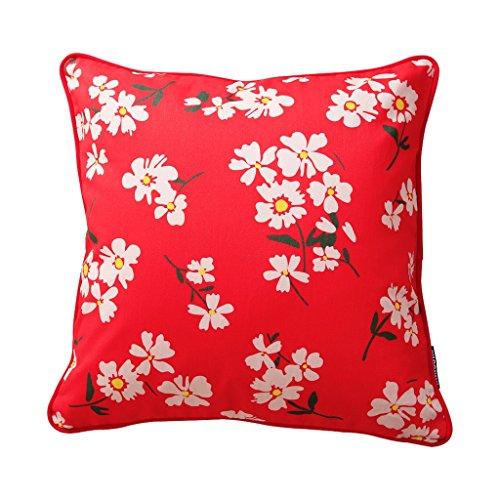 uus Red cuscino del divano con il