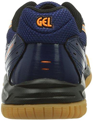 Asics Gel Squad Gs, Handball mixte enfant Bleu (Navy/Lightning)