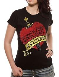 Loud Distribution Damen Musik und FilmT-Shirt mit Aufdruck