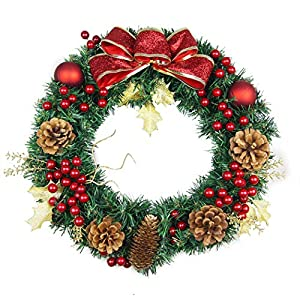 Bageek Corona de Navidad Adornos