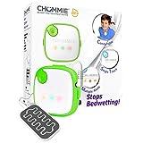 Chummie Elite alarme pipi au lit avec 5 sons, vibrations et une technologie de détection de chute, vert