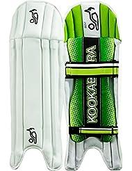 Kookaburra 500críquet deporte Wicket Keeper Legguard WK pierna almohadillas protectoras, multicolor