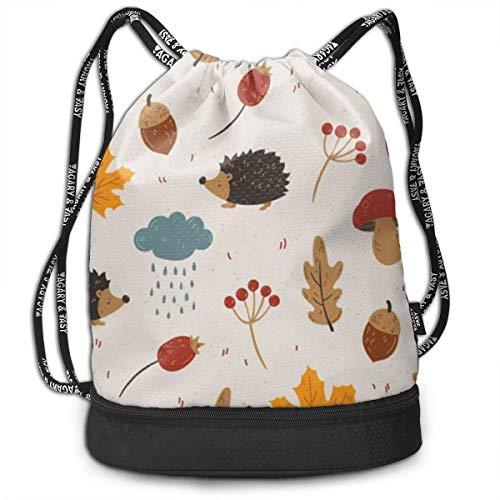 Rucksäcke,Sporttaschen,Turnbeutel,Daypacks, Drawstring Backpack Bundle Gym Bike Duffel Bag Knapsack Fashion Waterproof Sport Bag for Men Woman School Travel Cute Cat Print Pack -