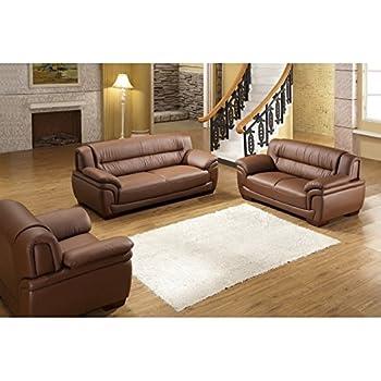 Design Voll Leder Sofa Couch Garnitur Polstermobel Sessel 327 3 2