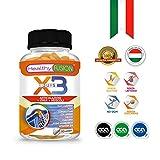 Elimina il dolore e l'infiammazione | Potente antinfiammatorio con Curcuma + Collagene Idrolizzato + Condroitina + Glucosamina + Acido Ialuronico + MSM + Calcio + Vitamina D3 | 90 capsule