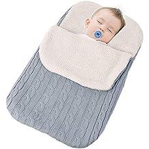 NIBESSER Manta Envoltura para bebés, para bebés recién Nacidos, niños pequeños, Mantas de