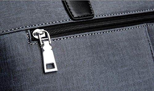 Männer Aktenkoffer Geschäft Beweglicher Kurier-Beutel Computer-Schulter-Handtasche Brown