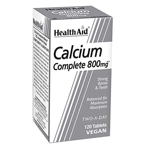 HealthAid Calcium Complete 800mg - 120 Tablets -