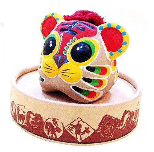 Preisvergleich Produktbild Charakteristisch Spielzeug Lehm-Figürchen Lehmskulptur Zodiac Ornaments Chinesis