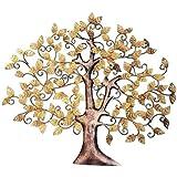 Mohan Jodero Elegant Iron/Metal Handicraft Wall Decor/ Wall Hanging Tree Of Knowledge/Tree Of Wisdom