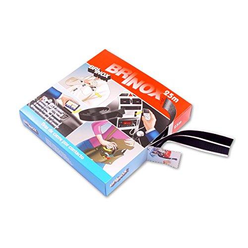 BRINOX b42420N-Heftstreifen aus Kontakt (20mm x 25m) schwarz