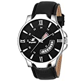 #9: Espoir Analog Day and Date Black Dial Boy's & Men's Watch - InfinityHammer0507