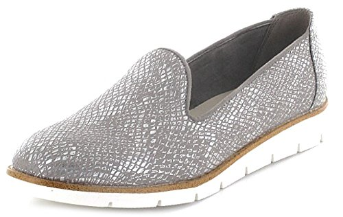 Pep Step 9623503Femme Chaussons Chaussures basses Sportif sol Casual Argent - Argent
