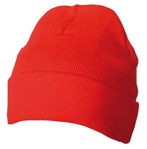 Myrtle Beach Uni Strickmütze Thinsulate, red, One size, MB7551 rd