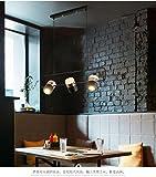 lampes suspendues en métal de réglage de suspension tournante de haute qualité...