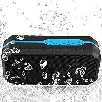 SHJILYYINX Al Aire Libre Bluetooth portátil caída del Polvo Impermeable, vibración 40MM película de Sonido de Baja frecuencia 1200mAh batería, Compatible con la mayoría de los teléfonos Inteligentes