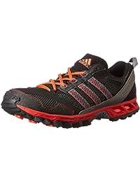 outlet store 8e0d0 d03e9 adidas Q35439 Kanadia 5 Chaussures de Running pour Homme Noir Neo Iron Rouge