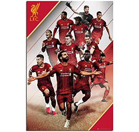 Liverpool Fc 2019 2020 Season Players Poster Maxi 91 5 X 61cms 36 X 24 Inches Amazon Co Uk Kitchen Home
