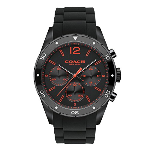 COACH Men's Sullivan Sport 44mm Black Watch image