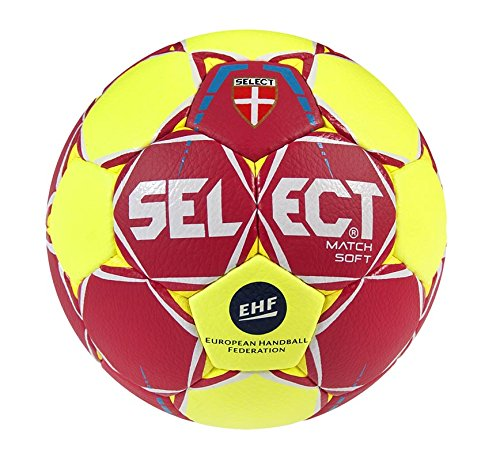 51a74e318a852 SELECT Match Soft Ballon de handball I rouge/Jaune I senior(3)