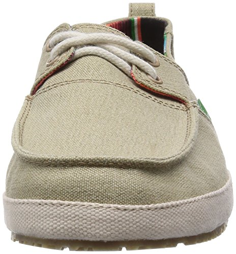 Sanuk Men's Admiral Boat Shoe, Tan, 10 M US Tan