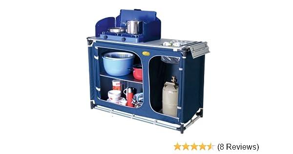 Outdoorküche Mit Spüle Blau : Camp 4 92243 cuccina campingküche mit spülbecken tuch blau: amazon