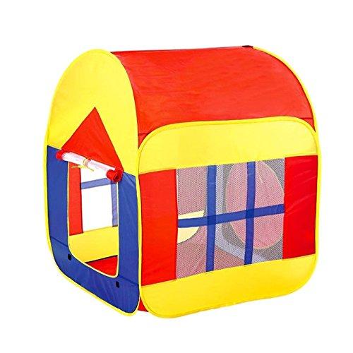 BATTOP Tienda de Niño Tienda de Juego Interior o Exterior Piscina de Bolas para Niños(Las bolas no icluidos)