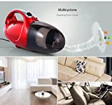 #10: Kihika High Power vacuum cleaner for home and car 1000W-Red