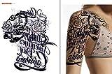 ARM SCHULTER TATTOO Temporär Oberarm Tattoo Fake Tattoo PC1314 (PC013 Rechter Arm)