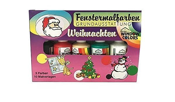 Fenstermalfarben Basic Equipment For Christmas Winter By Ahrenshof