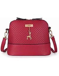 2018 Most Popular Women Vintage PU Leather Shoulder Bags Shell Model Handbag (25 * 10 * 19cm)