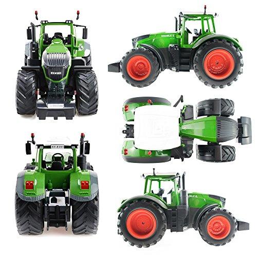 RC Auto kaufen Traktor Bild 2: efaso E351-003 1:16 2,4 GHz RC Trecker mit Anhänger und Licht- und Soundeffekten - Komplett RTR*