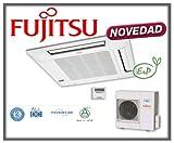 Equipo de aire acondicionado modelo 2013 con bomba frío/calor, bajo nivel sonoro. Equipo inverter. Calidad/precio excepcional. Fujitsu Cassete