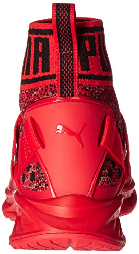 Puma Ignite EvoKnit Toile Baskets Red-Black-Red