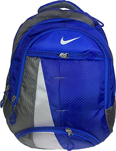 Nike Light Blue & Grey Backpack, Bag, For School, Office and Laptop Backpack Bag (Water Resistant)  available at amazon for Rs.799