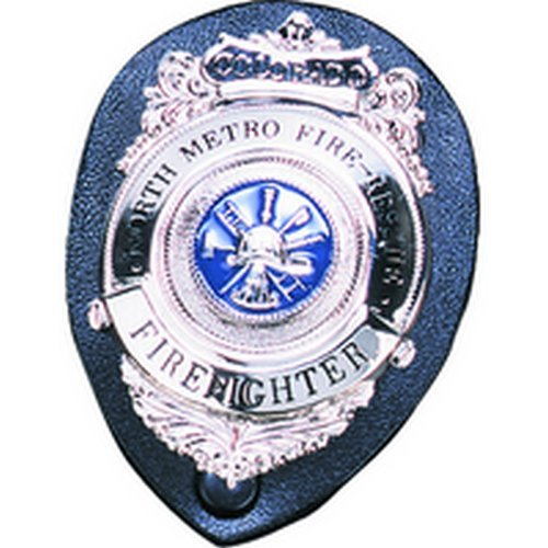 Robuste Leder COMPANY Wechselrahmen Badge Holder Shield-Starke Holster CO 71220, Police Equipment Buttons