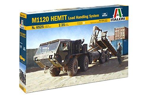 Italeri 6525 - m1120 hemtt load handling system model kit  scala 1:35