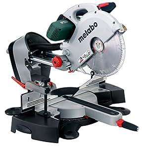 Metabo Kapp- und Gehrungssägen KGS 315 Plus / Säge mit vielseitigen und praktischen Funktionen, großem Sägeblatt und kräftigem Motor